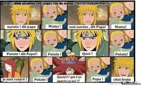 Naruto et Minato mdr XD