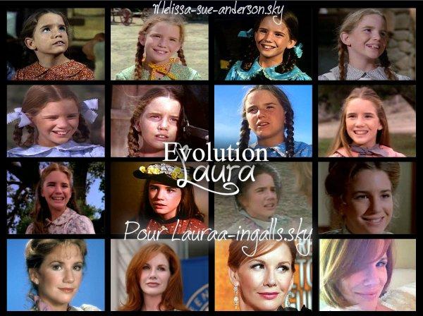 Evolution de Laura pour Lauraa-ingalls.sky :)