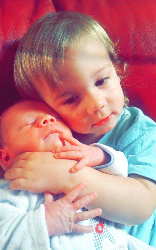 Mes deux fils mes amour ♡♡