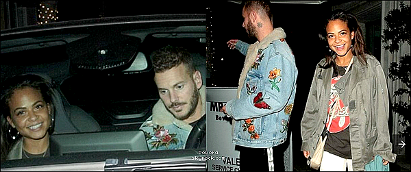 ".  05/03/2018 | Matt &Christina ont été vus quittant le restaurant ""Mr Chow"" à Berverly Hill.    Seules deux photos disponibles, tenue a la cool pour Matt, je ne suis pas fan de sa tenue.  BOF.[/font=Arial]    ."