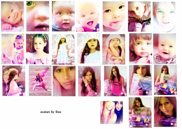 Avatars - Baby - Kids - Laura - Me - Hudgens Sisters.