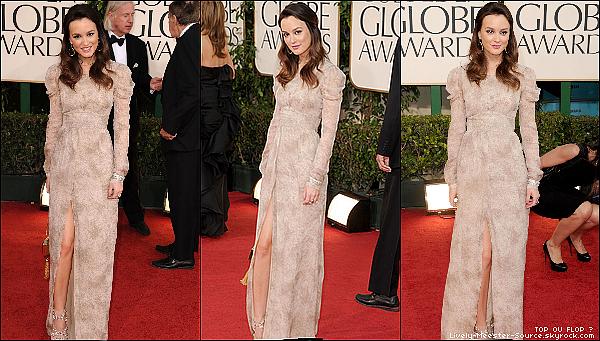 .EVENT ___16 Janvier 2010_ - _Leighton à assistée aux 68th Annual Golden Globe Awards _______ TOP OU FLOP ? .