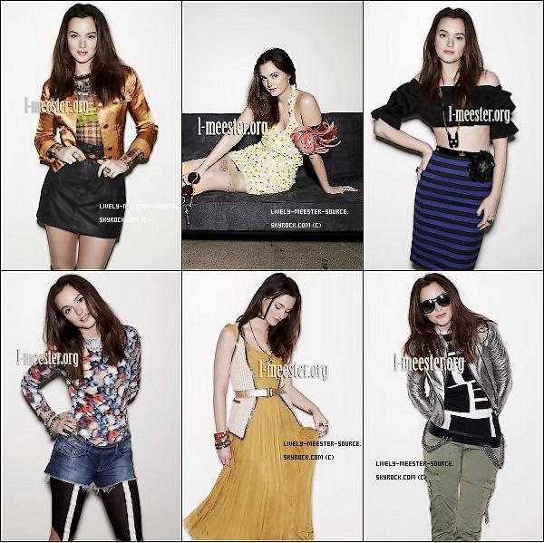 . Découvre un nouveau photoshoot de Leighton pour les magazines NYLON dont elle fait la couverture ce mois-ci  .
