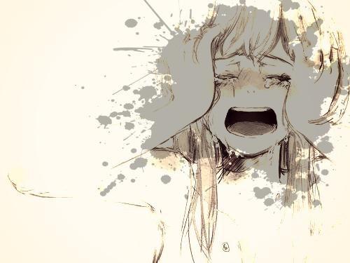 Je souris pour oubliée mes larmes