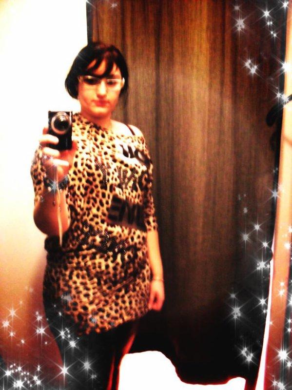moi en léopard hihi