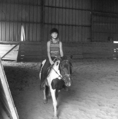 Une nouvelle passion..l'équitation!