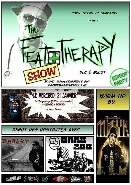 The FEATOTERAPY show