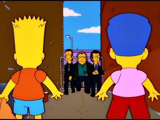 Milhouse gros tony et bart votre source sur les simpson - Bart et milhouse ...