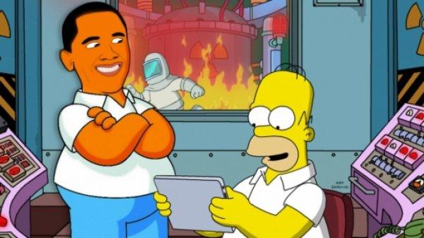 Barack Obama et Homer