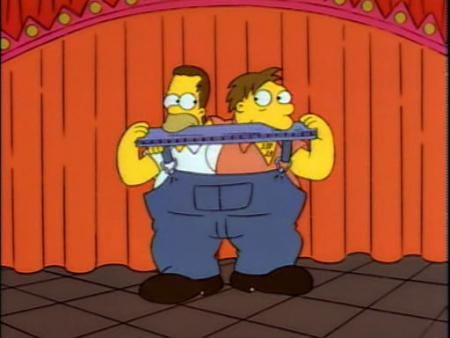 Homer et Barney