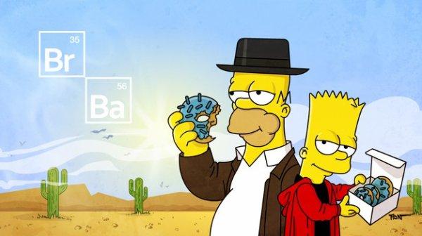 Homer et Bart
