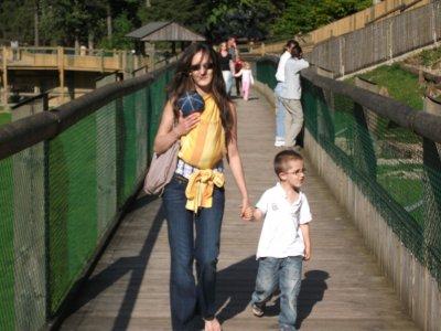 Moi et mes fils Mathéo et Alban