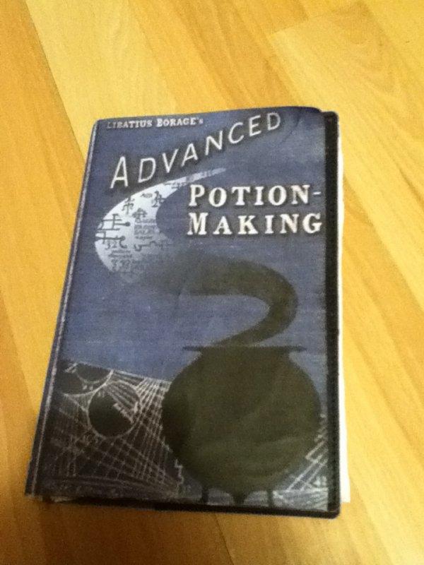 Création 2:Le livre des potions avancé