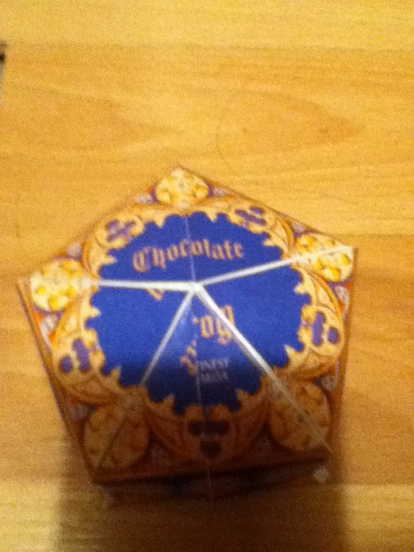Création 8:Boîte de Chocogrenouille et ses cartes