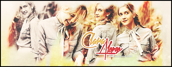 •• Bienvenue sur votre source d'actualité sur l'actrice Clara Alonso •• Découvrez le quotidien de Miss Alonso sur votre unique source à travers plusieurs supports comme des candids, photoshoots, events ...