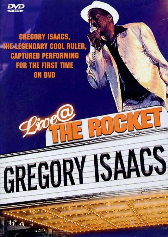 GREGORY ISAACS - LIVE AT THE ROCKET