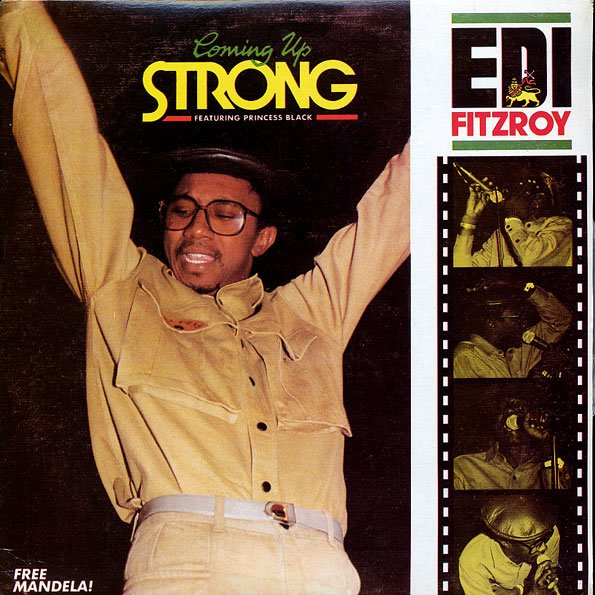 """EDI FITZROY - """"COMING UP STRONG"""" (1984)"""