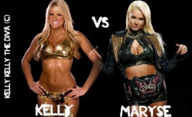 kelly kelly vs maryse