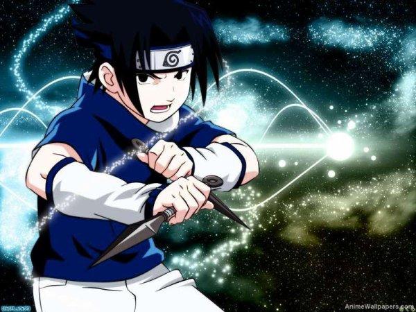 Voici des images de mon Sasuke adoré !
