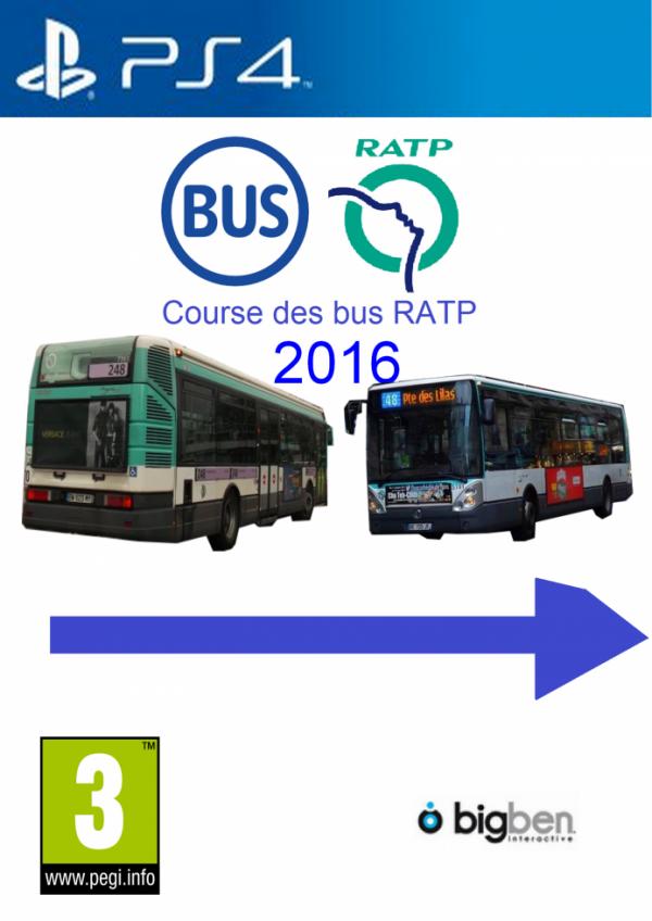 Jaquette ps4 course des bus ratp 2016 blog de ratp sami jerbi - Dessiner un bus ...