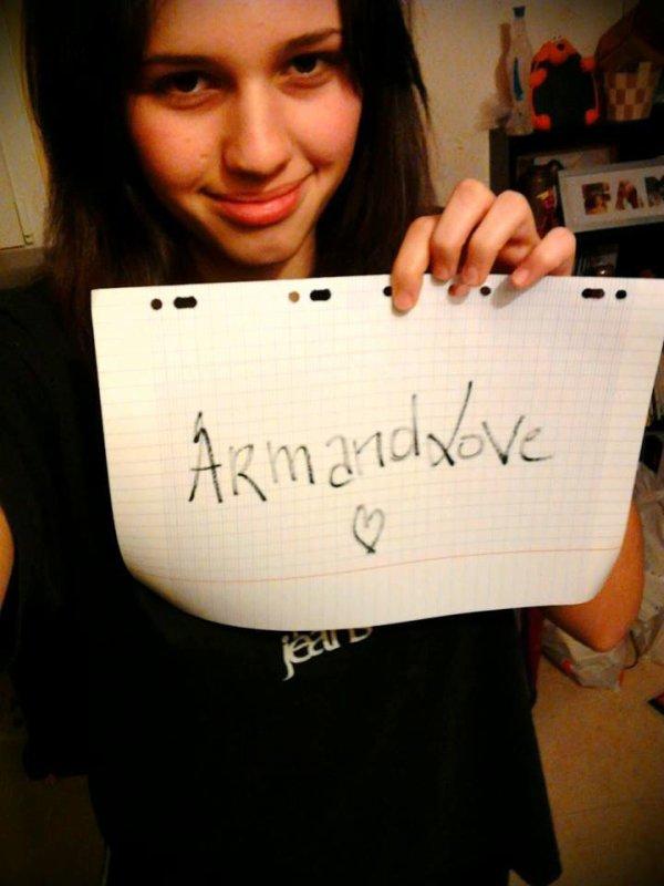 Petite dédii à ArmandLove :-P