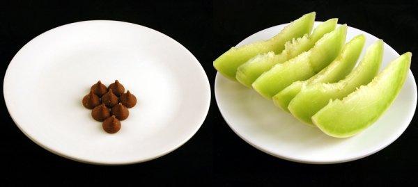 200 calories dans chaque assiette