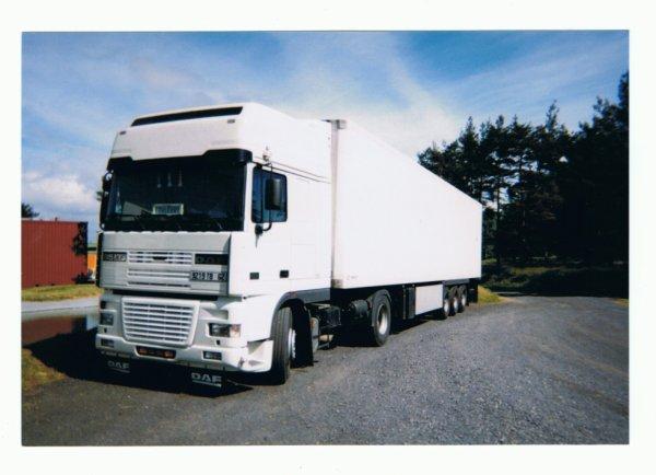 DAF 95XF en 2001