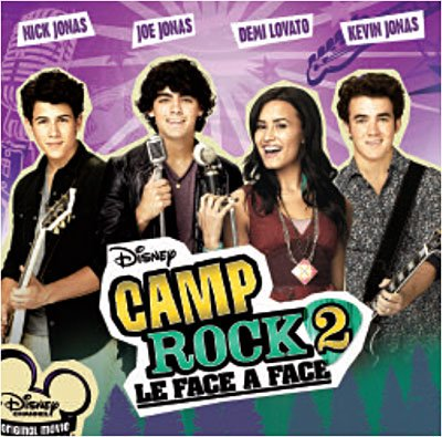 camp rock 2 le face à face