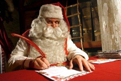 Avez vous fait votre lettre au père noel?