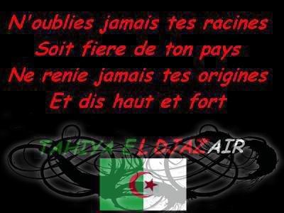 Algerie Mon Amour Algerie Pour Toujour Gothiqueـــــــ