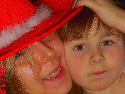 Ma Filleule et Moi a Noel 2011