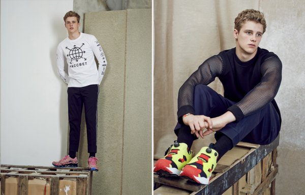 "EDITORIAL oki-ni ""STYLED by Andrew Davis"" Feat. Hamish Quigley by Ryan Barrett"