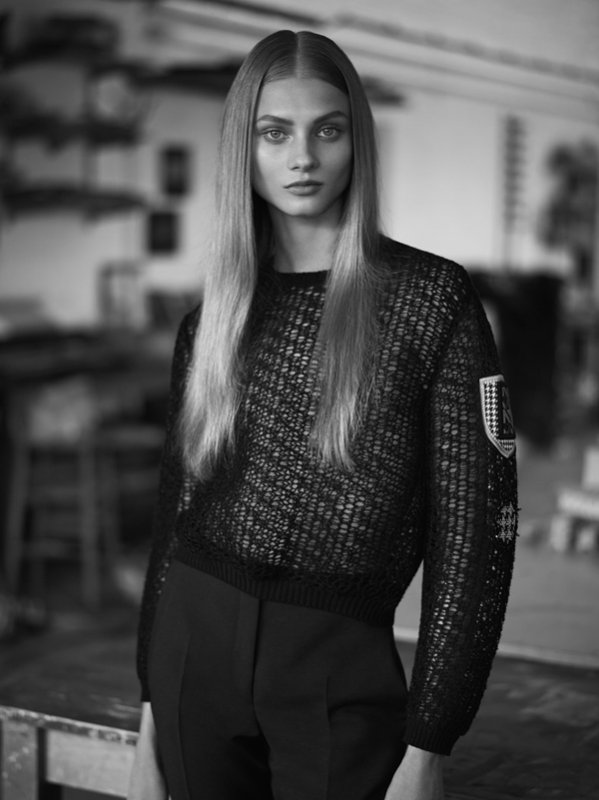 COVER & EDITORIAL Twin Magazine Spring/Summer 2014 Feat. Anna Selezneva by Ben Weller  2