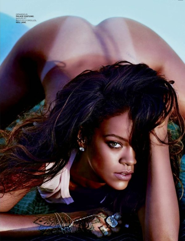 COVER & EDITORIAL Lui Magazine May 2014 Feat. Rihanna by Mario Sorrenti