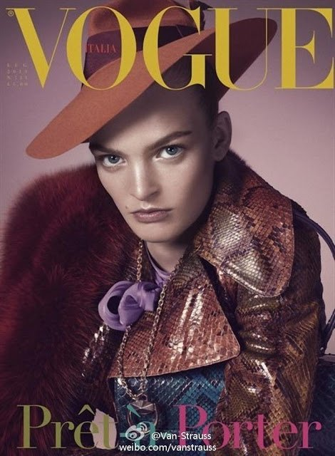 "COVER & EDITORIAL Vogue Italia July 2011 ""Prêt-à-Porter"" by Steven Meisel"