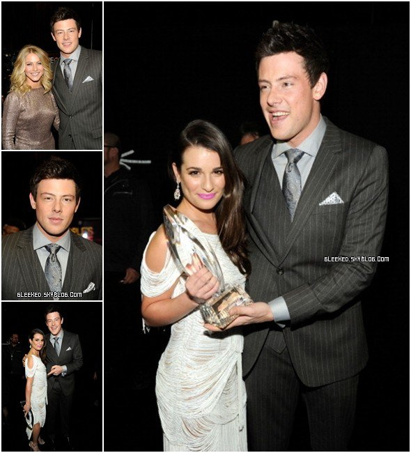 Cory au People Choice Awards 11.01.12