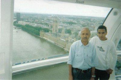 yo y mi padre en london aye