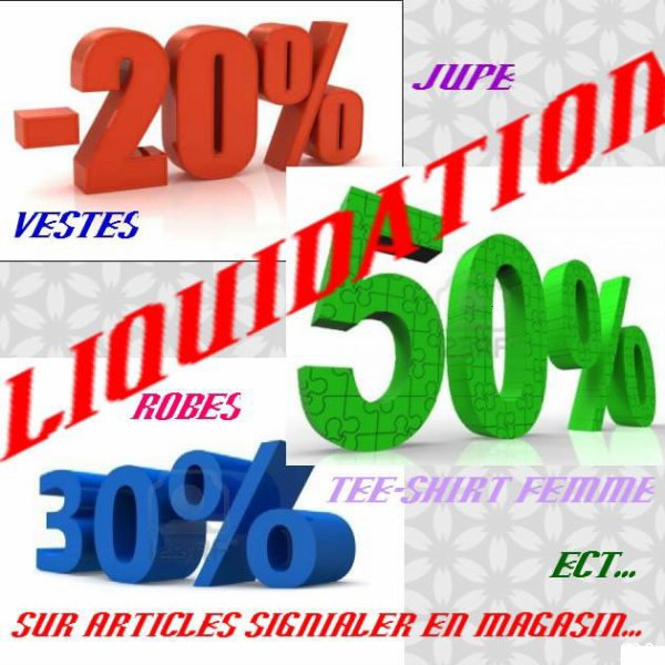 liquidation totale avant travaux