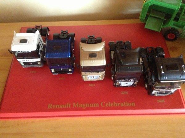 Cofret Renault Magnum Célébration