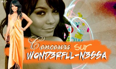 Concours organisé sur Wond3rful-n3ssa  Newletters - Deviens le 263 le fan.
