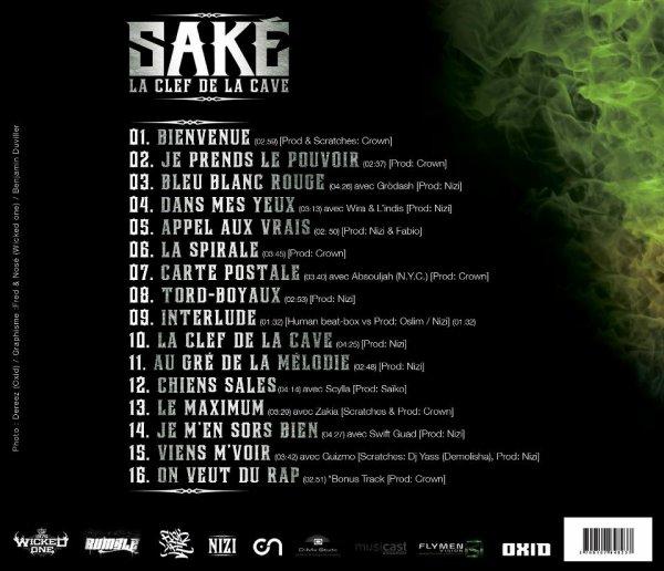 """The Track-Listing de l'album tant attendu """"La clef de la cave"""" sortie reportée au 27 Février !"""