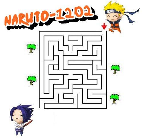 Jeu : Aidez Naruto à retrouver Sasuke