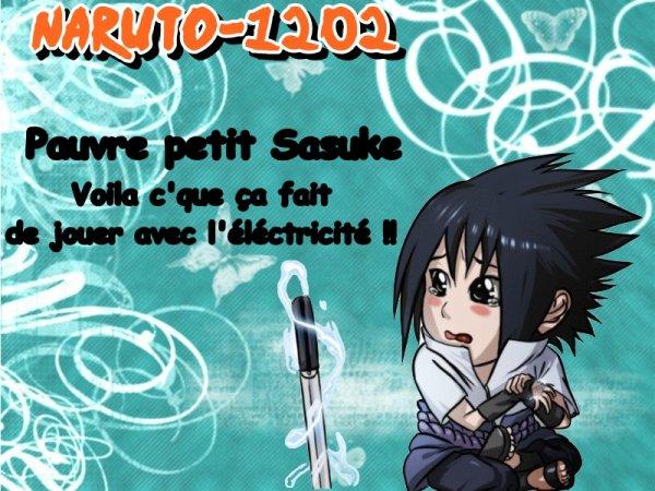 Pauvre petit Sasuke :D