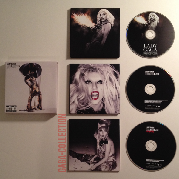 Born This Way - The Collection .