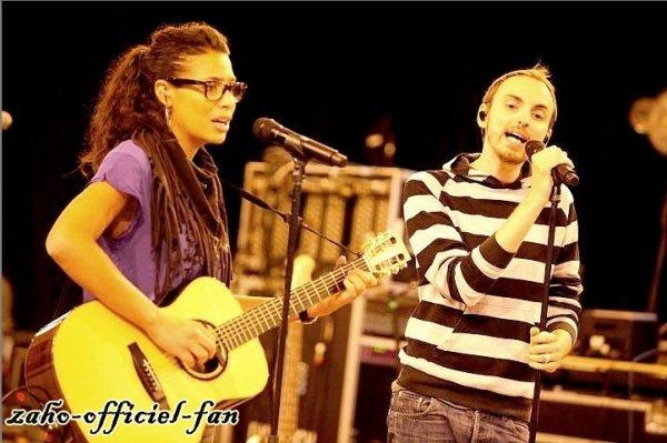 Zaho & Christophe Willem