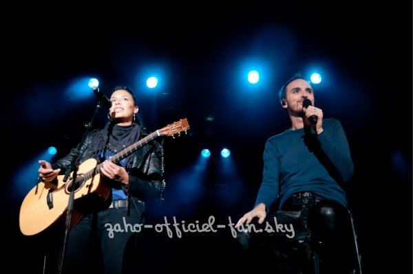 flash back: ZAHO & Christophe willem