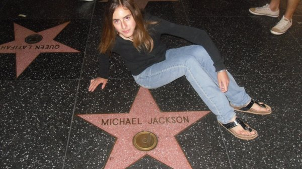 ..............................A star of Michael Jackson..................