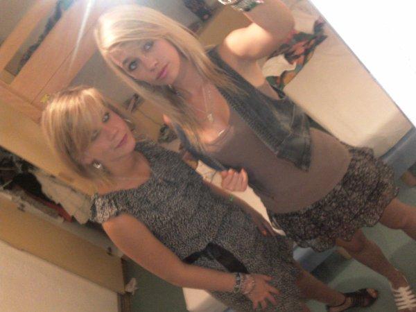 Maarie-kaate&Liinseey.  Les soeurs !
