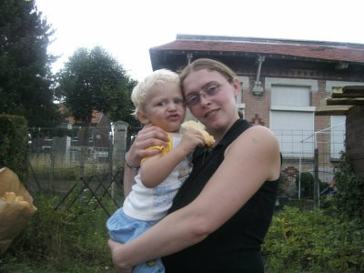 ma grande soeur et mon neveu