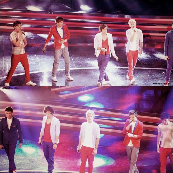 * ♦ 18/02/2012 : Les garçons étaient hier en Italie où ils ont performés au festival de San Remo. + Le 13 février, les garçons ont visités en Suède un studio Sony où ils ont été récompensés pour leur album.  *